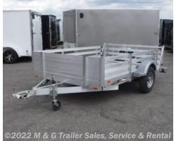 #ADTR767 - 2017 Triton Trailers AUT Series 1082 Aluminum With Fenced Sides!