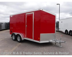 #352625 - 2017 Haulmark ALX 7x14TA Aluminum Enclosed Cargo - Red