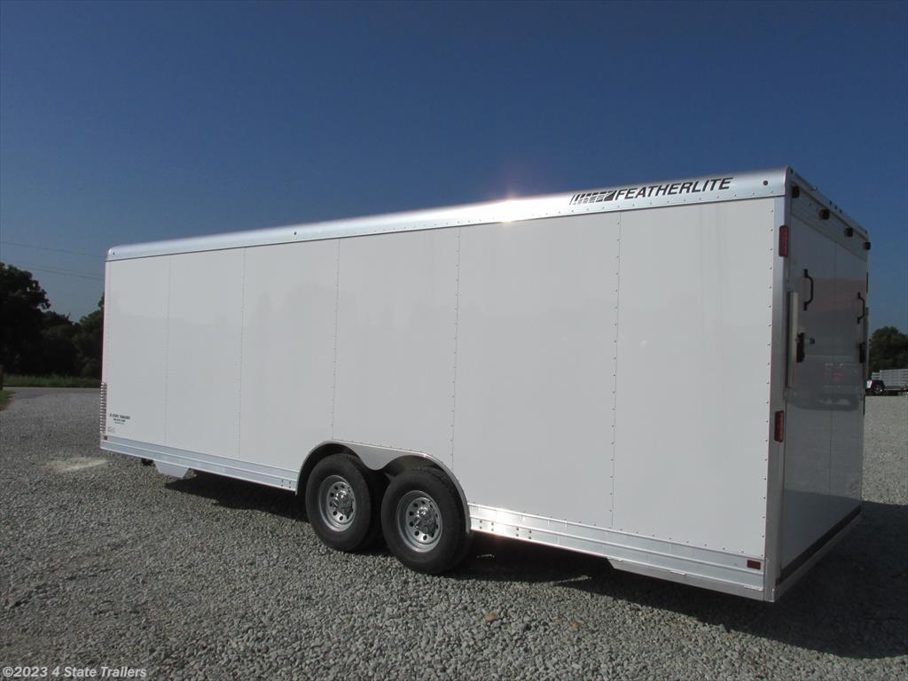 fl42906 2016 featherlite 8 6 x24 4926 enclosed car trailer for 4 state trailers 2016 8 6 x24 4926 enclosed car trailer cargo