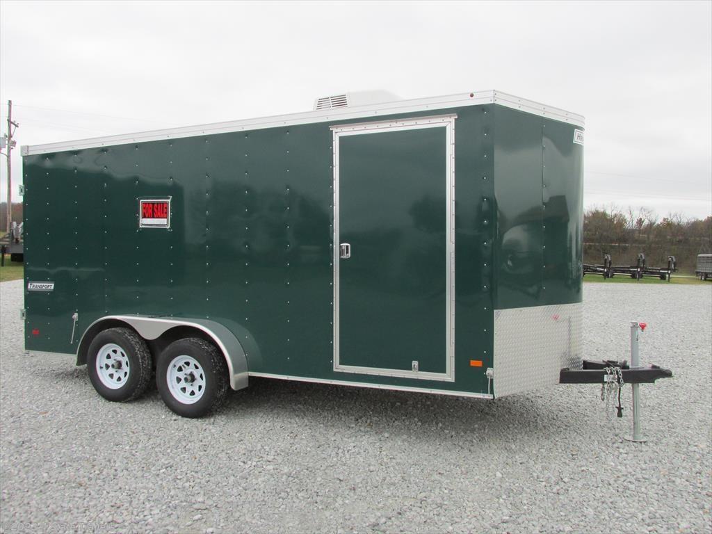 hm18018 2016 haulmark 7x16x6 6 cargo trailer ac for in 2016 haulmark 7x16x6 6 cargo trailer ac cargo trailer used in fairland ok