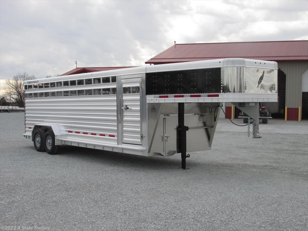 fl45668 2017 featherlite 7x24 8127 stock trailer for sale in Wiring Diagram For Cattle Trailer new 2017 featherlite 7x24 8127 stock trailer for sale by 4 state trailers available in fairland wiring diagram for stock trailer