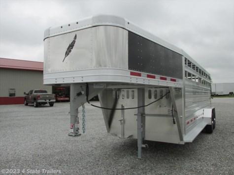 ct02358 1996 miscellaneous 7x24 coose metal top stock trailer 2017 featherlite 6 7x20 8117 stock trailer