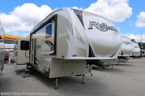 New 2017 Grand Design Reflection 337RLS For Sale by DIXIE RV SUPERSTORES FLORIDA available in Defuniak Springs, Florida