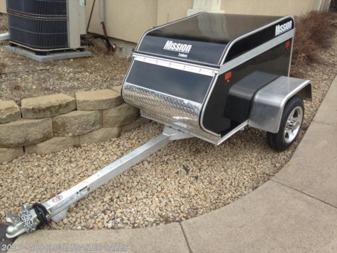 2015 Mission Trailers MMT  Motorcycle Trailer