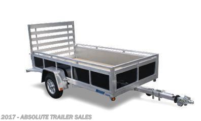 2016 Mission Trailers  Aluminum Utility W/Wood Deck