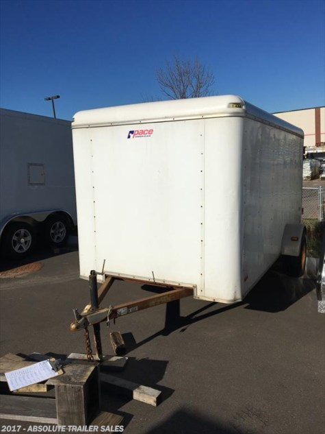 2003 Pace American  Used Enclosed Cargo Trailer - Double Rear