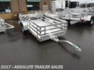 2017 Bear Track Products, Inc. Bear Track All Aluminum Motorcycle Trailer-NO SIDE KIT Inver Grove Heights, Minnesota