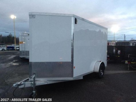 2017 Mission Trailers EZEC  All Aluminum Enclosed Trailer - Ramp Door