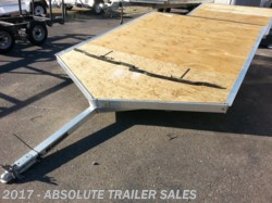 2014 Karavan Drive-On Open Snowmobile Trailer