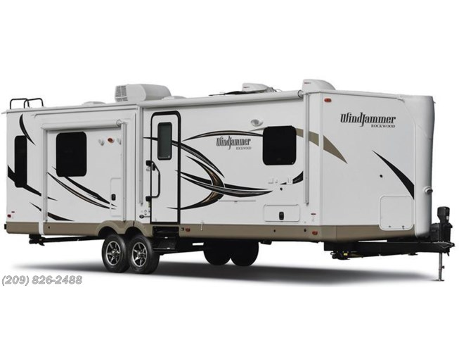 Stock Image for 2016 Forest River Rockwood Windjammer 3029W (options and colors may vary)