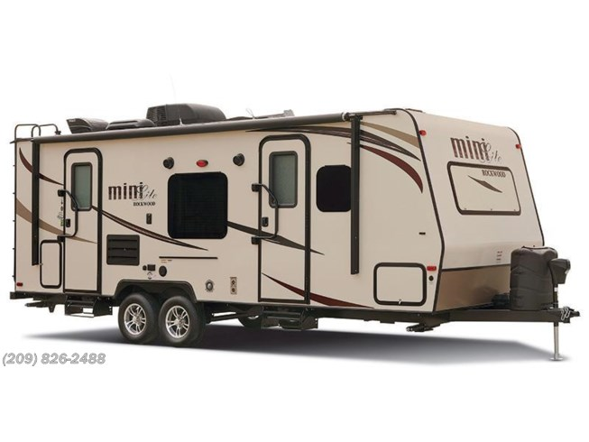 Stock Image for 2016 Forest River Rockwood Mini Lite 2504S (options and colors may vary)