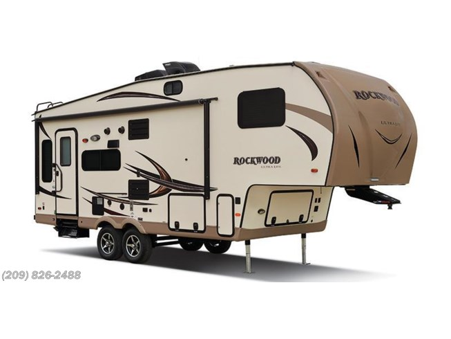 Stock Image for 2016 Forest River Rockwood Ultra Lite 2650WS (options and colors may vary)
