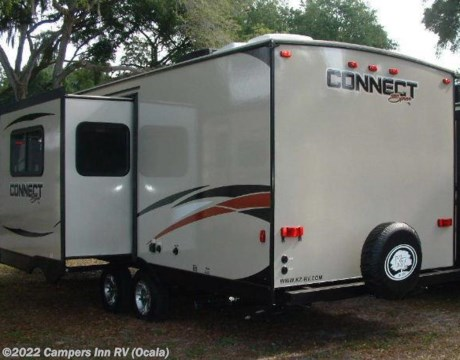 Brilliant 0236  2016 KZ Spree Connect C250BHS For Sale In Ocala FL