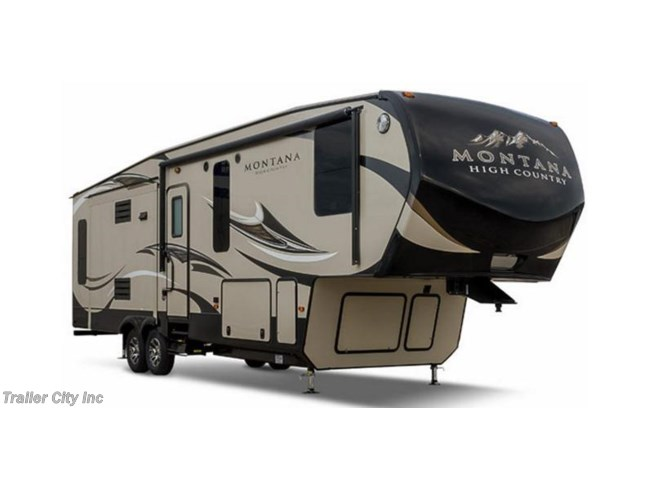 Stock Image for 2017 Keystone Montana High Country 310RE (options and colors may vary)