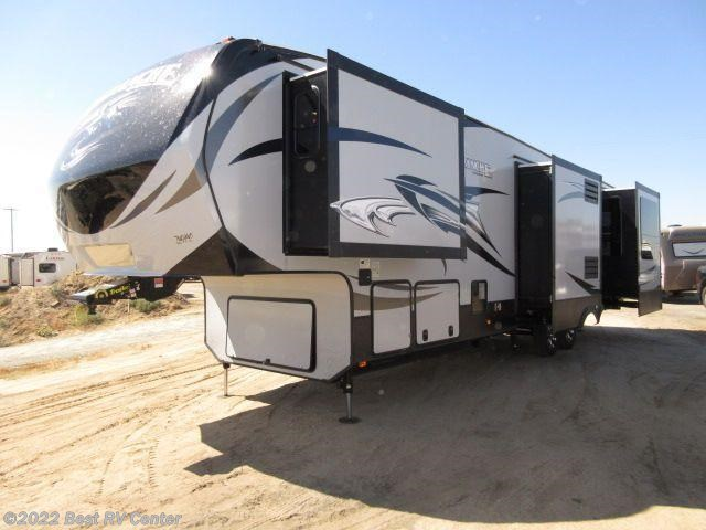 2017 keystone rv avalanche 370rd five slideouts rear - Front living room fifth wheel for sale ...