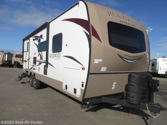 2017 forest river rv rockwood ultra lite 2606ws solid for 2 bathroom travel trailer