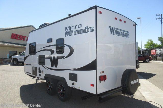 Model 2017 Winnebago RV Micro Minnie 1706FB FRONT QUEEN BEDREAR BATHDry