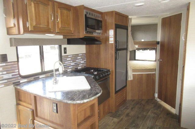 2017 keystone rv springdale 240bhwe rear twin bunks