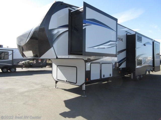 2017 Keystone Rv Avalanche 395bh Rear Loft Two Bathrooms
