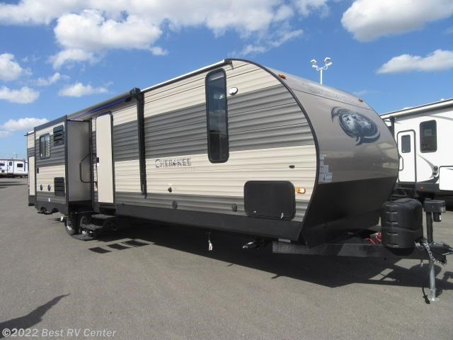 2017 forest river rv cherokee 304bh 2 bedrooms island kitchen 3 slide outs out for sale in for Two bedroom travel trailers for sale