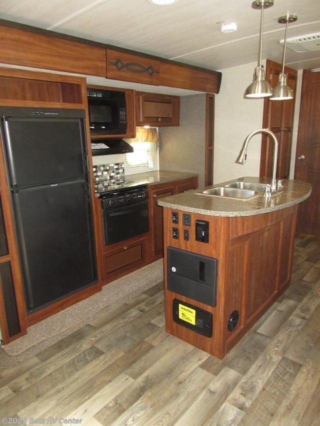 2017 heartland rv rv wilderness 2775rb outdoor kitchen for Outdoor kitchen islands for sale