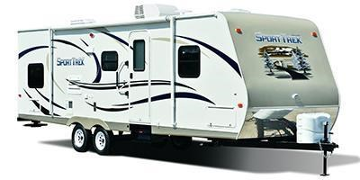 Stock Image for 2014 Venture RV SportTrek ST235VRB (options and colors may vary)