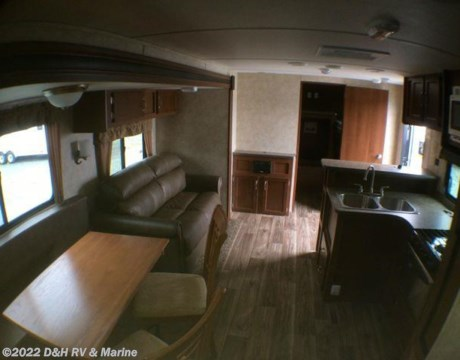 20154bh 2015 Riverside 31 Front Bunkhouse Washer Dryer