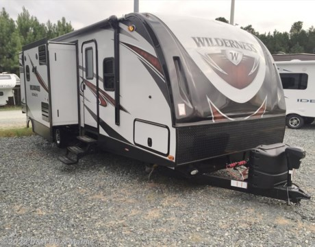 wd3250 2017 heartland rv wilderness wd 3250bs for sale in apex nc. Black Bedroom Furniture Sets. Home Design Ideas