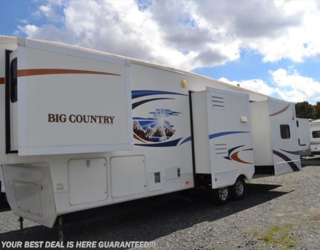 S4874 2010 Heartland Rv Big Country 3500rl For Sale In