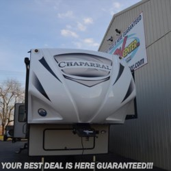 2018 Coachmen Chaparral 391QSMB  - Fifth Wheel New  in Seaford DE For Sale by Delmarva RV Center in Seaford call 302-629-3606 today for more info.