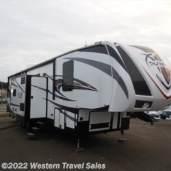 2015 Forest River XLR Thunderbolt 415AMP  - Toy Hauler Used  in Lynden WA For Sale by Western Travel Sales call 800-481-4505 today for more info.