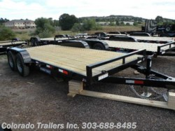 2016 Sure-Trac  7x16+2 Flatbed / Car Hauler Trailer