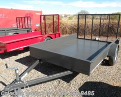 #13094 - 2017 Silver Fox 5x10 STEEL UTILITY TRAILER