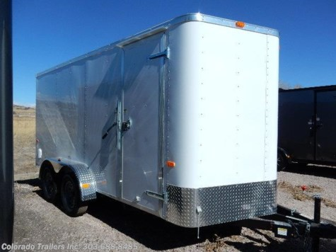 2017 Cargo Craft Elite V  7x16 Enclosed Cargo Trailer