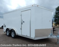 #13562 - 2017 Haulmark Low Hauler 7.5x14+V Enclosed Cargo Trailer