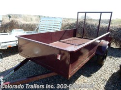 2017 Silver Fox  5x10 STEEL UTILITY TRAILER