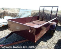 #13569 - 2017 Silver Fox 5x10 STEEL UTILITY TRAILER