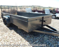 #13878 - 2017 Silver Fox 6.5x16 STEEL UTILITY TRAILER
