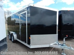 2017 Haulmark Low Hauler 7.5x16+V Enclosed Cargo Trailer