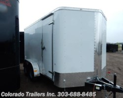 #13672 - 2017 Cargo Craft Elite V 7x14 Enclosed Cargo Trailer
