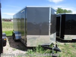 2017 Haulmark  7x16+V Enclosed Cargo Trailer