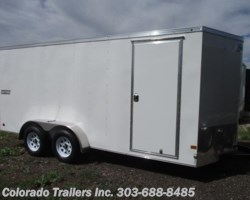 #13751 - 2017 Haulmark Passport 7x16+V Enclosed Cargo Trailer
