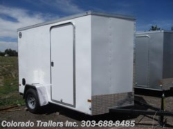2017 Wells Cargo  6x10+2 Enclosed Cargo Trailer