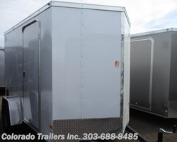 #13755 - 2017 Wells Cargo 6x10+V Enclosed Cargo Trailer