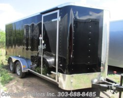 #13849 - 2017 Cargo Craft Elite V 7x18 Enclosed Cargo Trailer