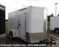 #13834 - 2017 Cargo Craft Elite V 6x12 Enclosed Cargo Trailer