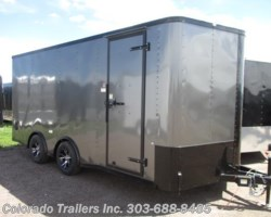 #13808 - 2017 Cargo Craft Elite V 8.5x18 Enclosed Cargo Trailer