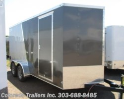 #13822 - 2017 Haulmark Passport 7x16+V Enclosed Cargo Trailer