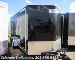 #13882 - 2017 Haulmark Passport 7x16+V Enclosed Cargo Trailer