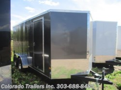2017 Haulmark General 7x16+V Enclosed Cargo Trailer